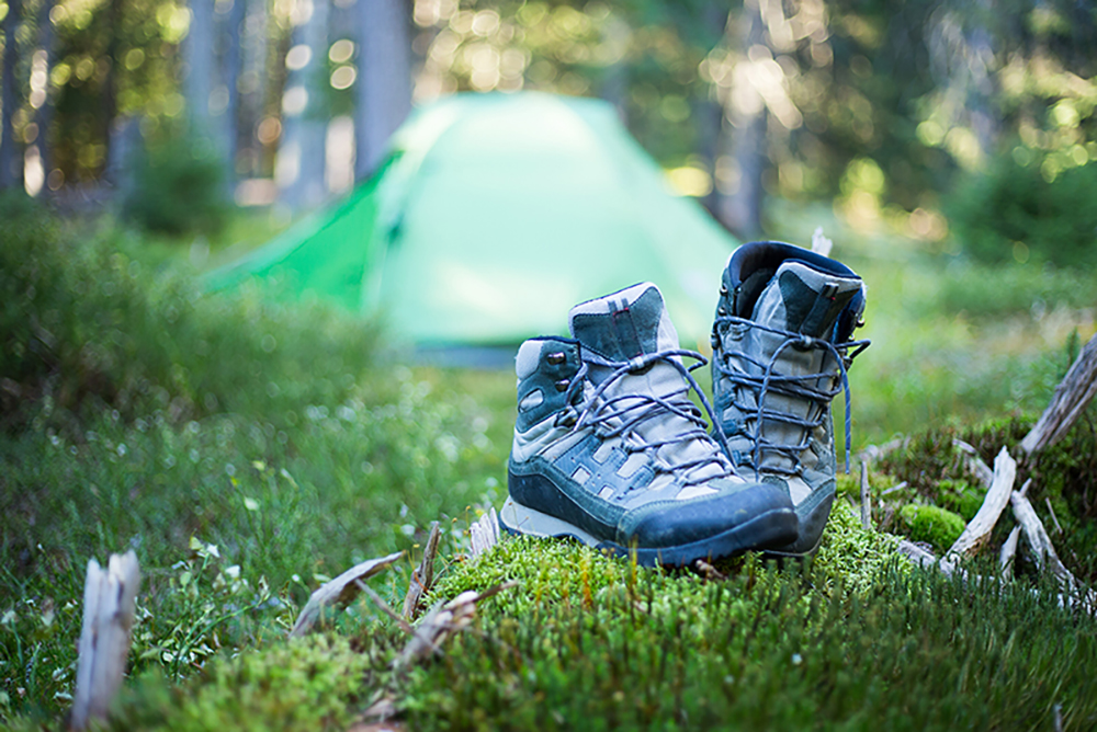 Camping-en-automne-Tente-Montagne
