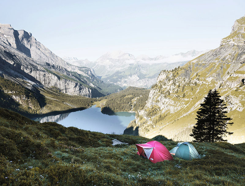 Montagne Tente-Camping